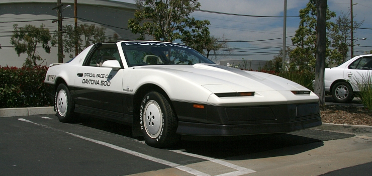 1983 Pontiac Trans Am Daytona 500 Pace Car
