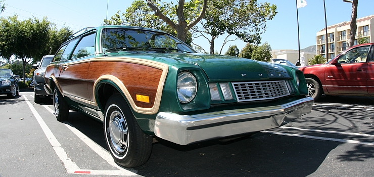 1976 Ford Pinto Squire Wagon